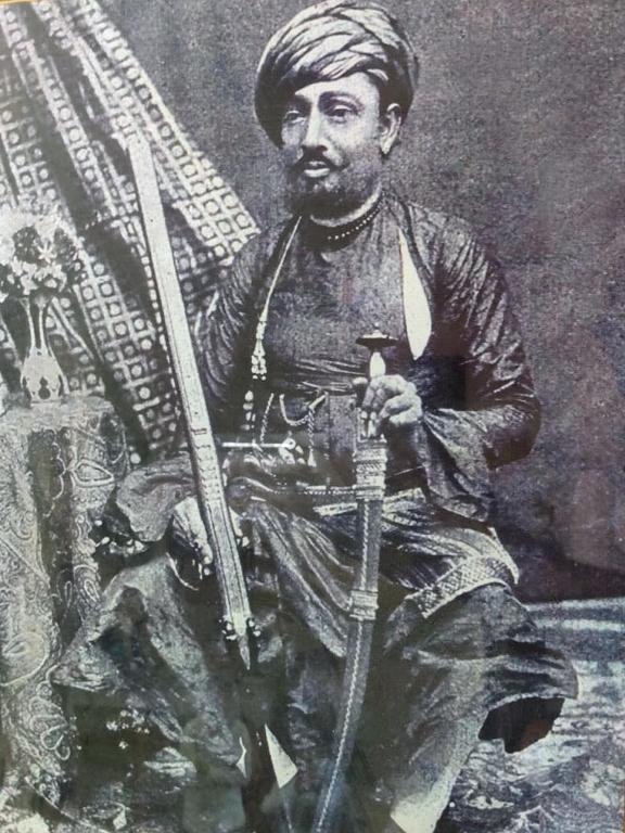 Madarul Maham Vazeer Shekh Mohamad Bahauddin Sahab C.I.E. (1835-1914 A.D.)